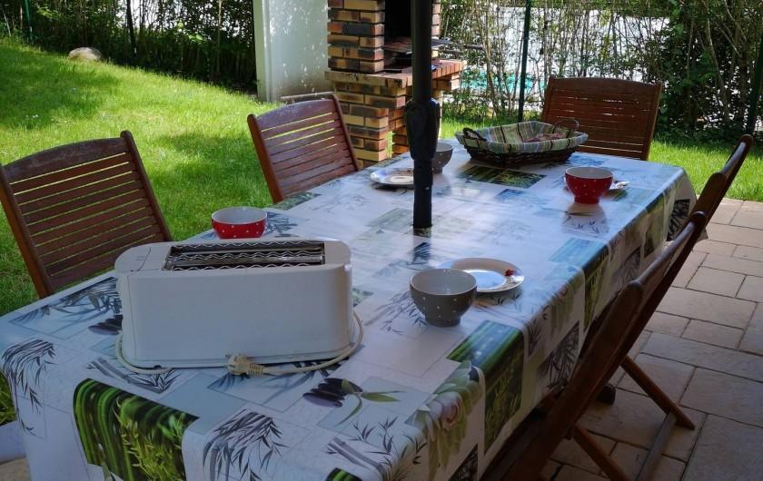 Location de vacances - Chalet à Saint-Gérons - Petit déjeuner