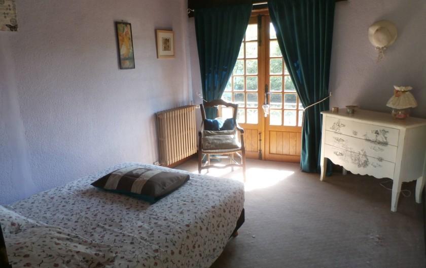 Location de vacances - Maison - Villa à Yvré-l'Évêque - La chambre au balcon