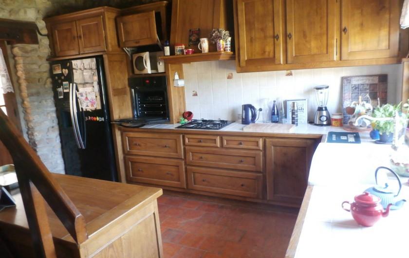 Location de vacances - Maison - Villa à Yvré-l'Évêque - La cuisine