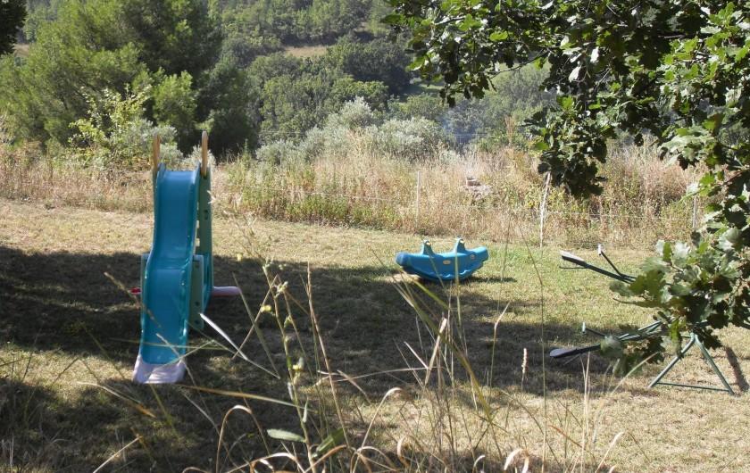 Location de vacances - Gîte à Moustiers-Sainte-Marie - jardin