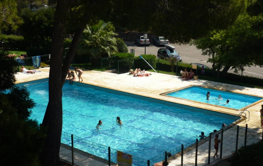 Location de vacances - Studio à Saint-Raphaël - Plage Boulouris