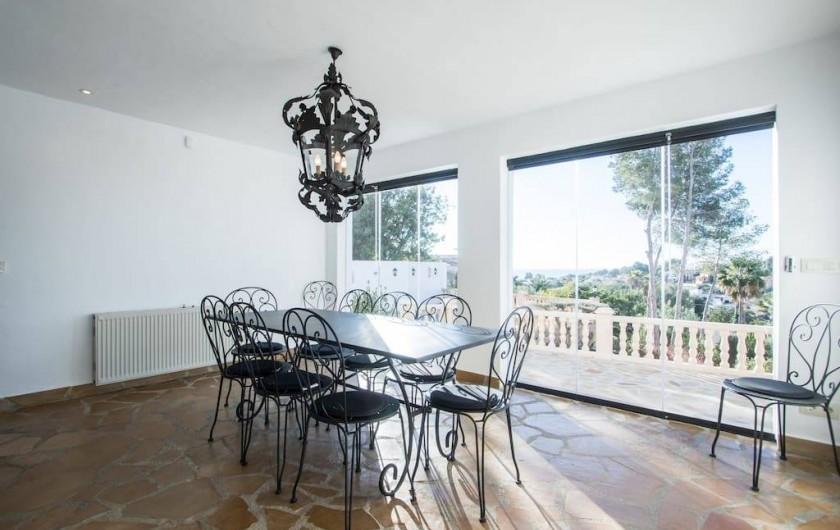 Location de vacances - Villa à Benissa - rez de chaussée