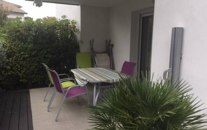 Location de vacances - Appartement à Soorts-Hossegor - la terrasse