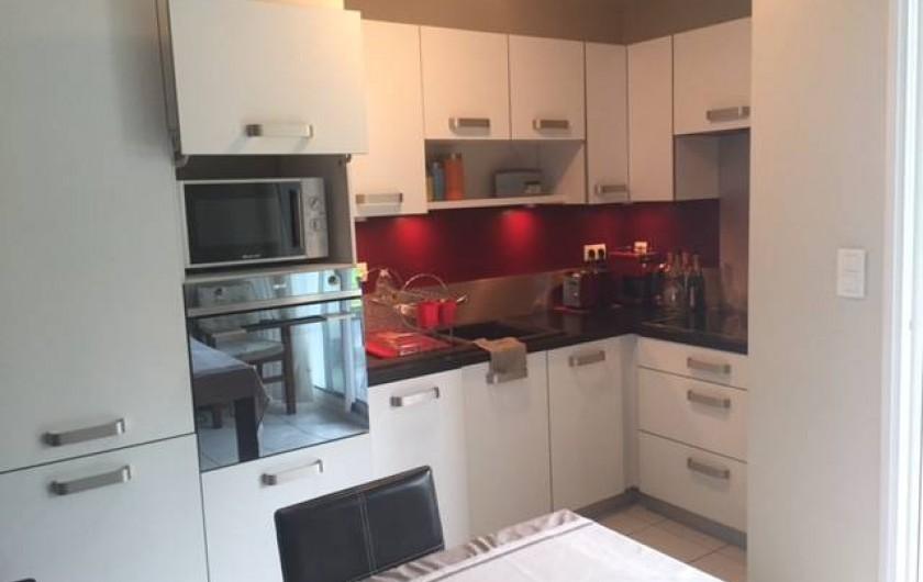 Location de vacances - Appartement à Soorts-Hossegor - coin cuisine