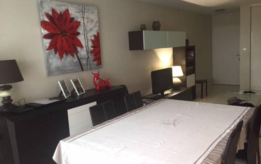 Location de vacances - Appartement à Soorts-Hossegor - salle à manger