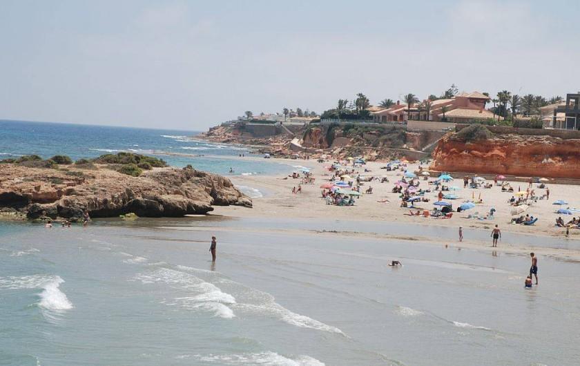 Location de vacances - Villa à La Zenia - plage du capitaine