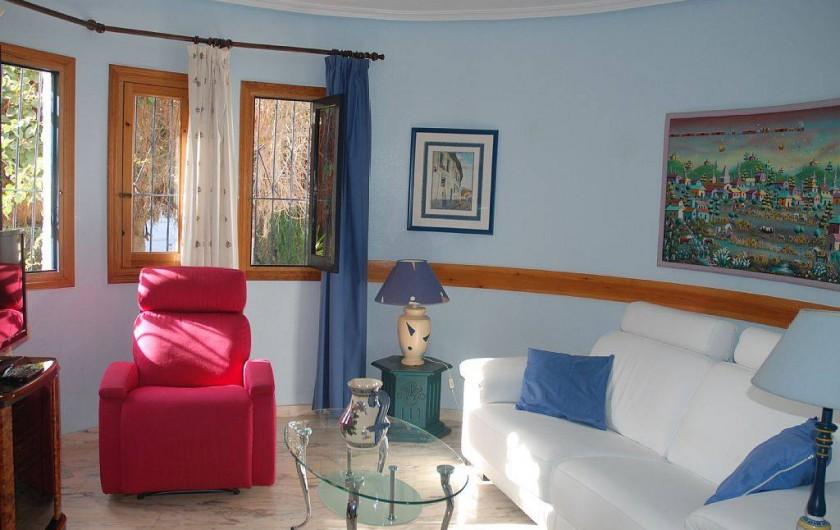 Location de vacances - Villa à La Zenia - salon TV