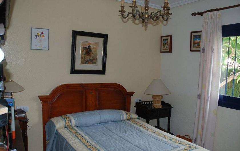 Location de vacances - Villa à La Zenia - chambre RDC