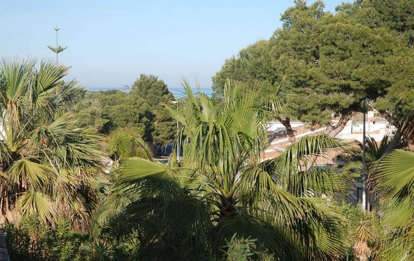 Location de vacances - Villa à La Zenia - vue terrasse 1er étage