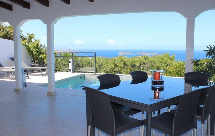 Location de vacances - Villa à Gustavia