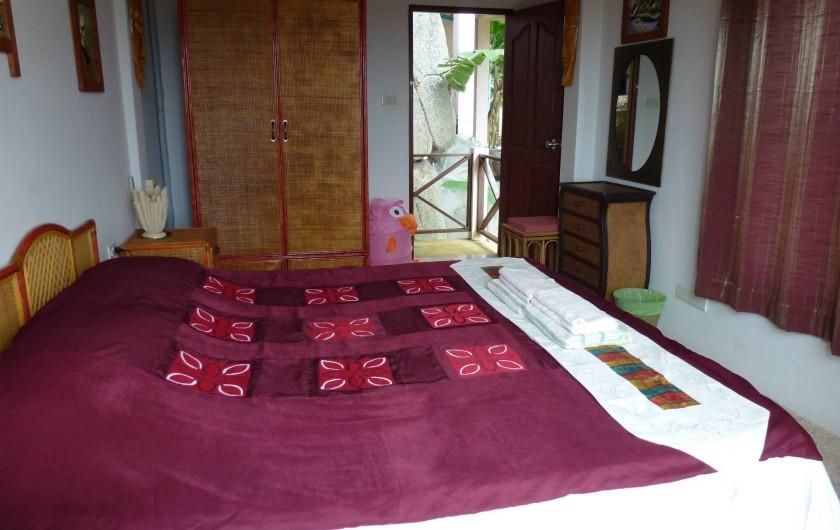 Location de vacances - Villa à Ko Samui - Chambre rose