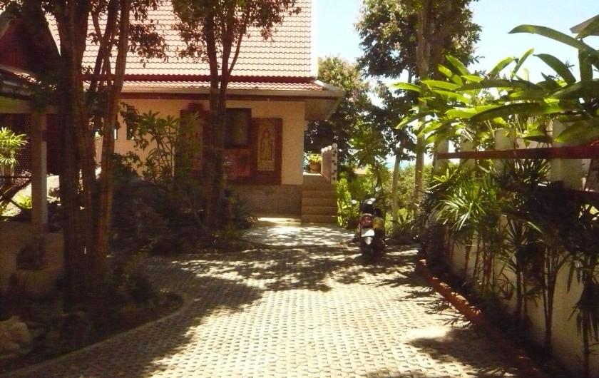 Location de vacances - Villa à Ko Samui - Cour d'entrée