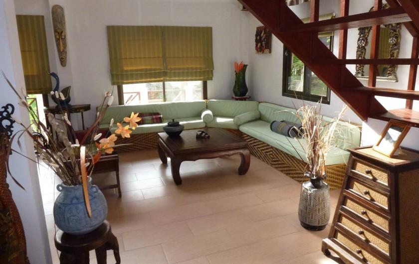 Location de vacances - Villa à Ko Samui - Autre vue du séjour