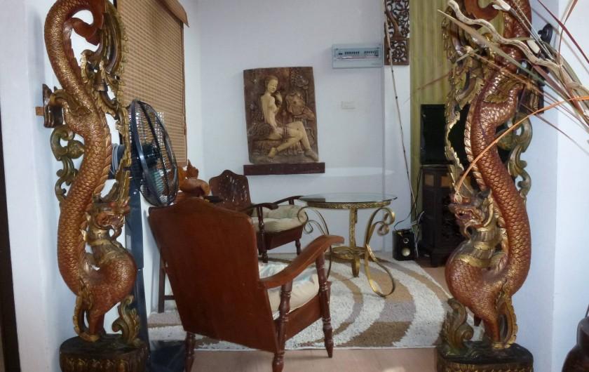 Location de vacances - Villa à Ko Samui - Petit salon TV