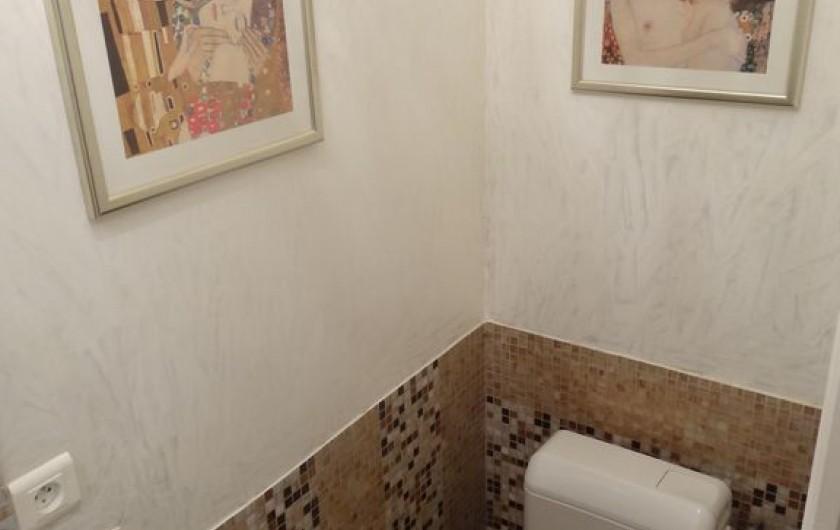 Location de vacances - Villa à Lecci - WC