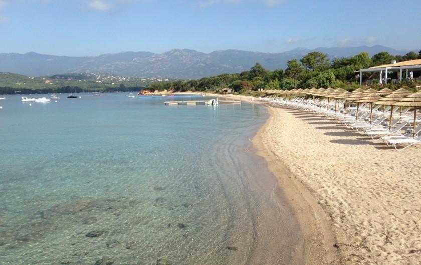 Location de vacances - Villa à Lecci - Plage du Benedettu