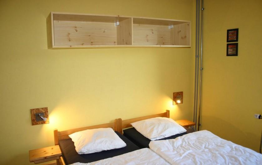 Location de vacances - Gîte à Petit-Thier - Une chambre