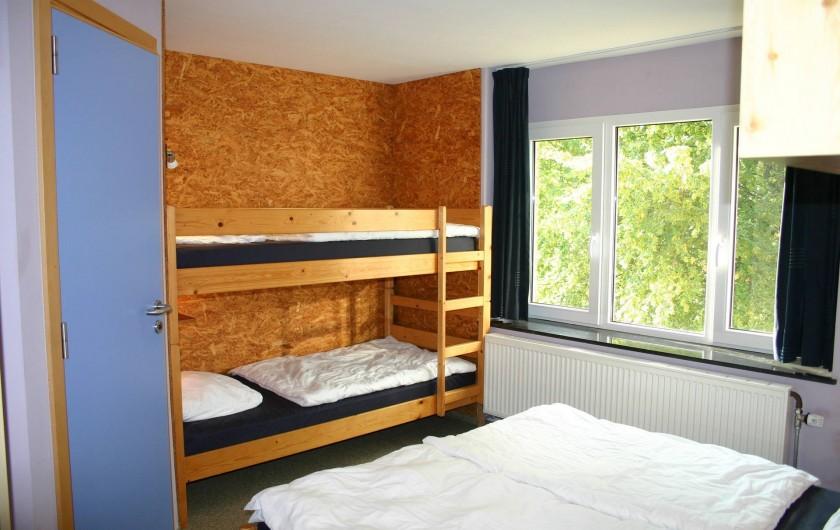 Location de vacances - Gîte à Petit-Thier - Une chambre de 4 personnes