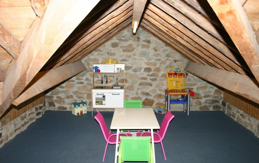 Location de vacances - Gîte à Petit-Thier - Le coin-jeux des enfants