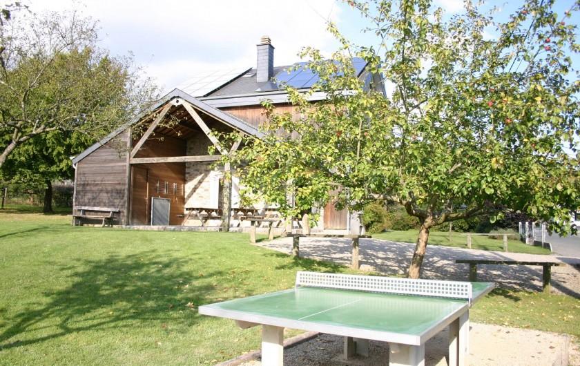 Location de vacances - Gîte à Petit-Thier - Le jardin