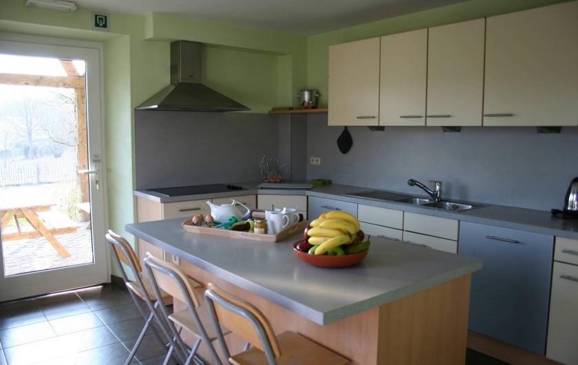 Location de vacances - Gîte à Petit-Thier - La cuisine