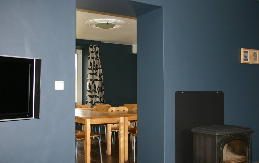 Location de vacances - Gîte à Petit-Thier - Salon et vue sur salle à manger