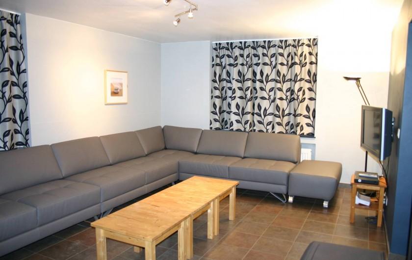 Location de vacances - Gîte à Petit-Thier - Le salon