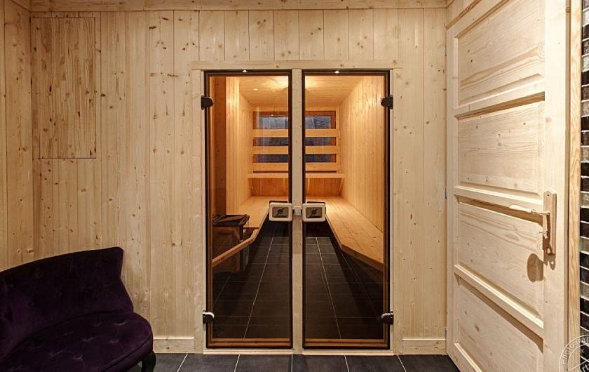 Location de vacances - Chalet à Megève - Sauna & bathroom n°3