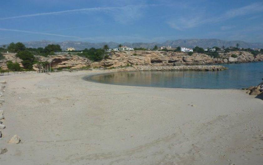 Location de vacances - Villa à L'Ametlla de Mar - plage de sable à proximité