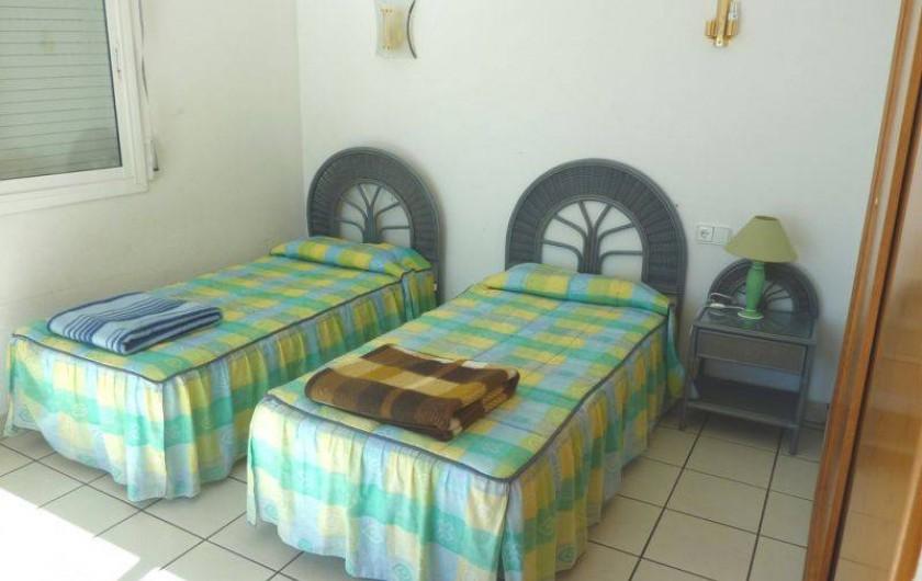 Location de vacances - Villa à L'Ametlla de Mar - chambre4