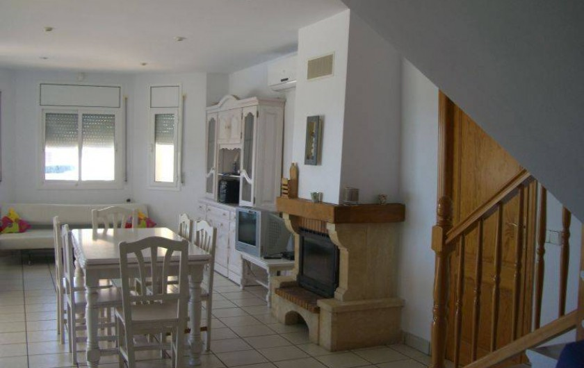 Location de vacances - Villa à L'Ametlla de Mar - séjour/ salon