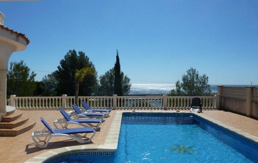 Location de vacances - Villa à L'Ametlla de Mar - piscine