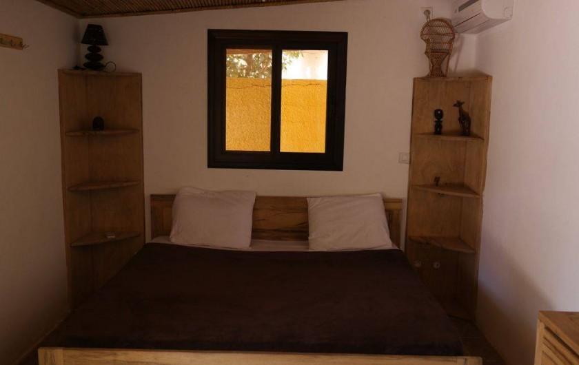 Location de vacances - Villa à Somone - Studio, lit double