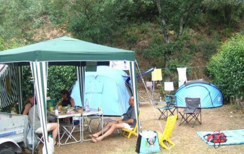 Location de vacances - Camping à Montolieu