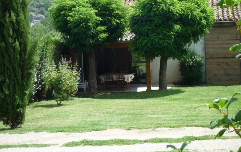 Location de vacances - Gîte à Casteljau - terrasse