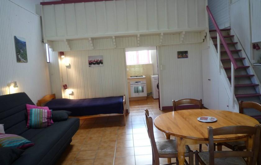 Location de vacances - Gîte à Casteljau - salon