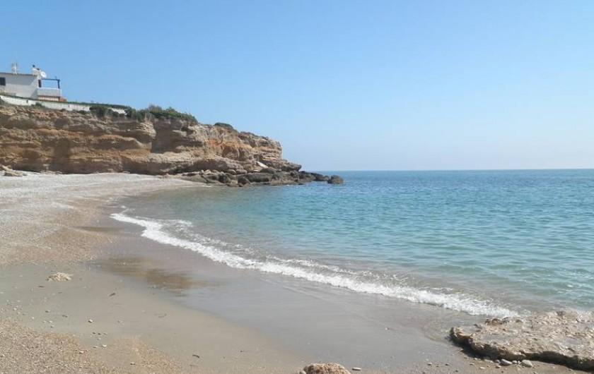 Location de vacances - Villa à Vinaròs - Plage del Pastor - 300 m.