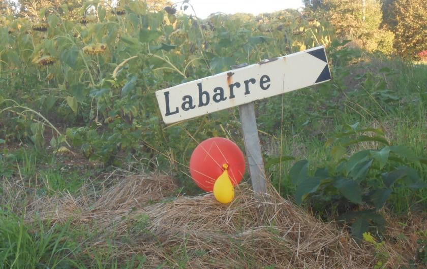 Location de vacances - Chambre d'hôtes à Tournon-d'Agenais - Vous y êtes!!!