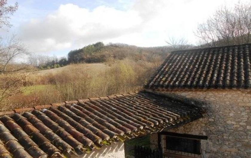 Location de vacances - Chambre d'hôtes à Tournon-d'Agenais - Une des vues depuis la chambre