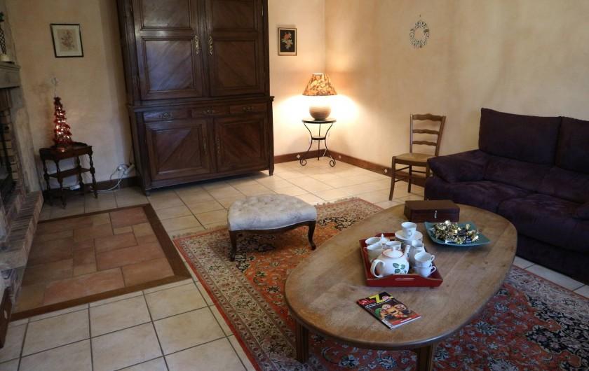 Location de vacances - Appartement à Barretaine - le Salon