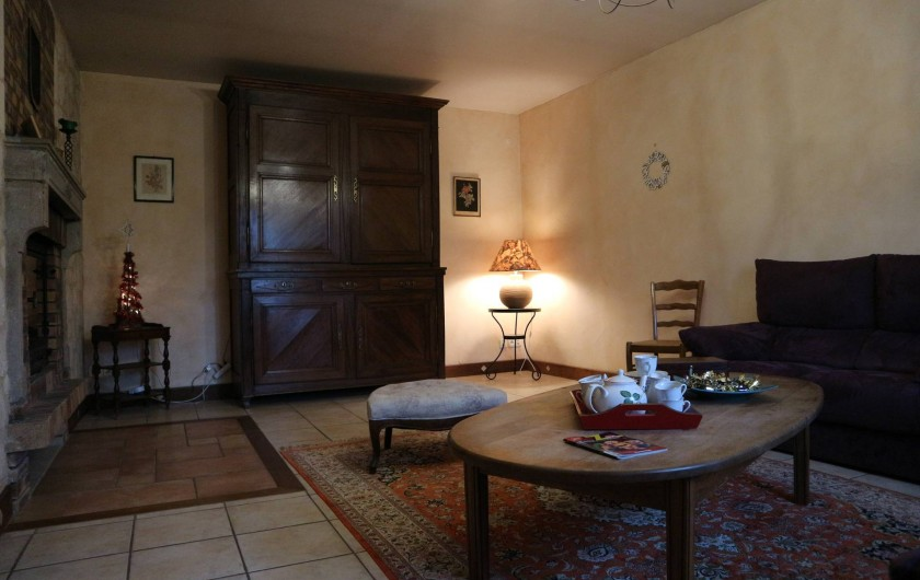 Location de vacances - Appartement à Barretaine - le Salon