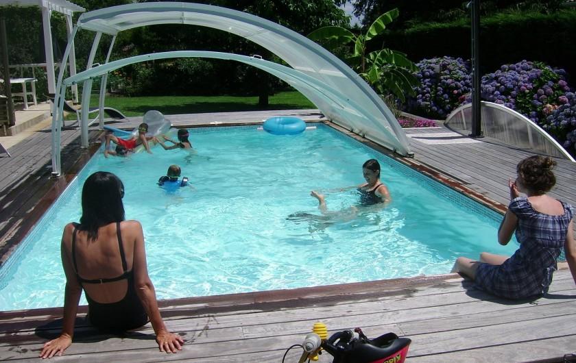Location de vacances - Maison - Villa à Soorts-Hossegor - La piscine