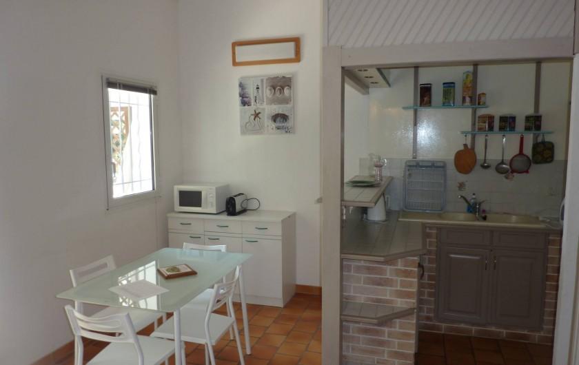 Location de vacances - Maison - Villa à Soorts-Hossegor - Le coin repas