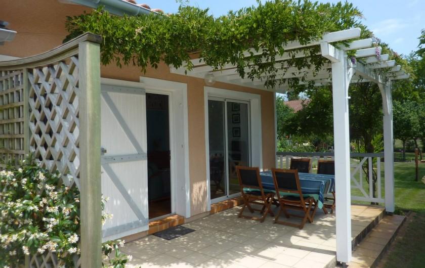 Location de vacances - Maison - Villa à Soorts-Hossegor - Votre terrasse