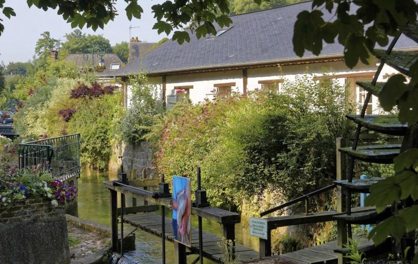 Location de vacances - Appartement à Saint-Valery-en-Caux - Veules les Roses. Le chemin des moulins