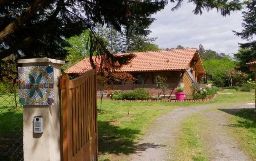 Location de vacances - Gîte à Magescq - en arrivant,  ...Bienvenue !