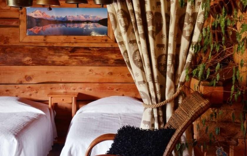 Location de vacances - Chalet à Flumet - Zone de repos