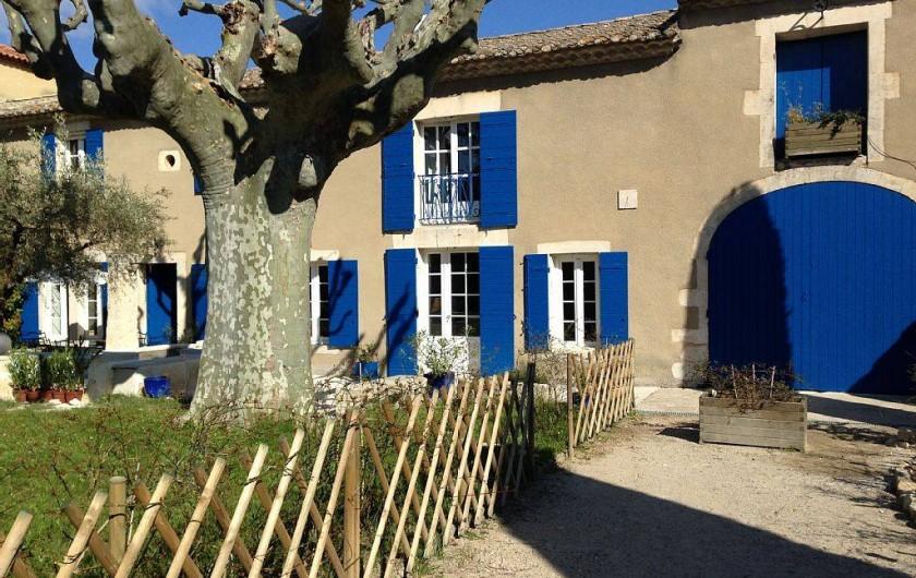 Location de vacances - Mas à Saint-Rémy-de-Provence - Allée