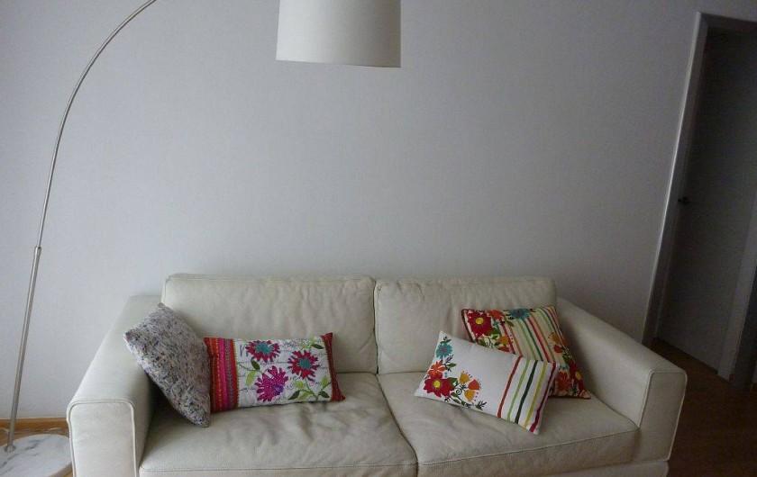 Location de vacances - Appartement à Barcelone - Salon