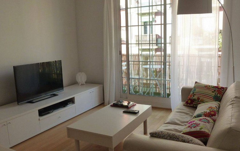 Location de vacances - Appartement à Barcelone - Coin Salon